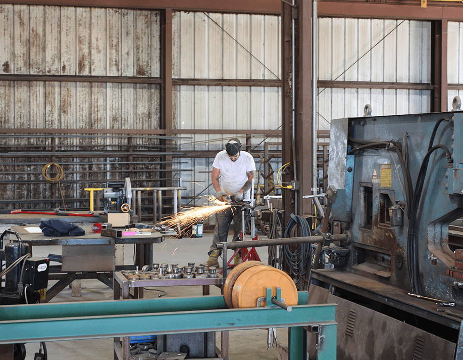 Custom Steel Fabrication Shop