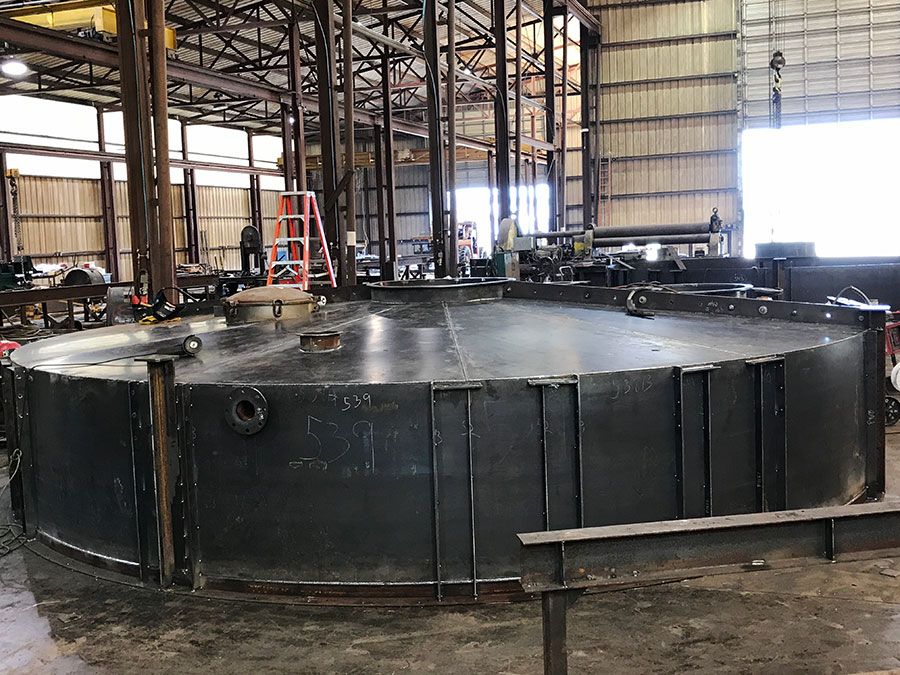 Custom Steel Tank Fabrication Project